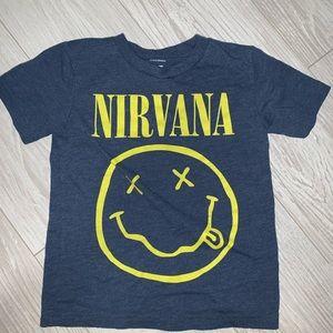 Kids nirvana T-shirt size 3T